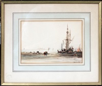 at anchor, venice by félix ziem