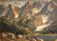 high crags, high sierras by frederick carl smith