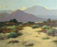 desert in bloom by henry leopold richter