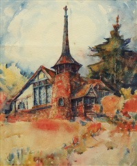 presbyterian church, belvedere by selden connor gile