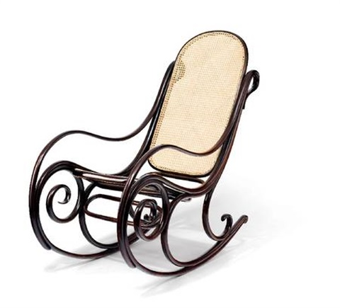 Schaukelstuhl by thonet on artnet for Schaukelstuhl sale
