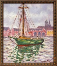 the sailboat paul revere by hugo melville fisher