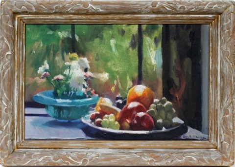 fruit still life by ivan g olinsky