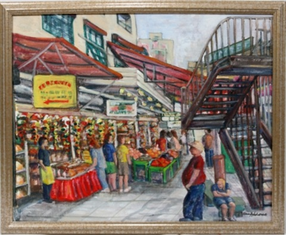 pike street market by susan adelman