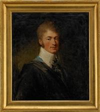 porträtt av generallöjtnanten, kammarherren, greve gustaf fredrik mörner af morlanda by carl fredrik van breda