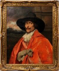 portrait of a cavalier by alex de andreis