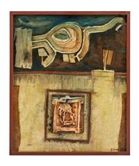 petit reliquaire des symbols bzw. portrait de carl laszlo nr. 2 (2 works) by guido biasi