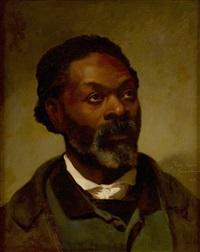 porträtt av zeno oreno f. gouadeloupe by ferdinand fagerlin