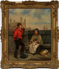 street scene by william mulready