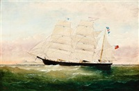 the three masted barque