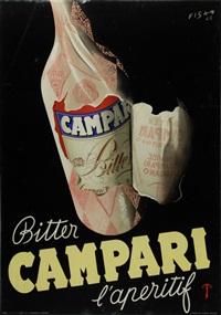 bitter campari l'aperitif by carlo fisanotti