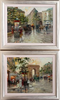 paris street scenes by françois gerome