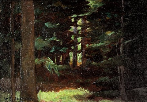 redwood grove by william franklin jackson