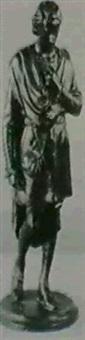 standing man in elizabethan dress by edmund thomas quinn