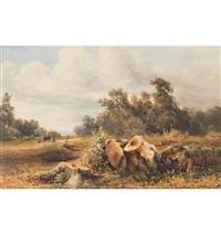 landschaft in der umgebung von genf by alexandre calame