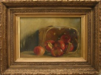 still life with apples by joseph decker
