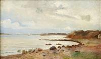 kustlandskap by axel lindman