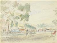 petrovski boulevard by alexandre arkadevich labas