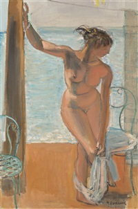 baigneuse by maurice barraud