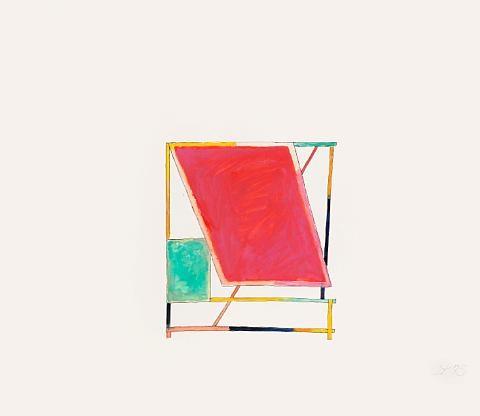 untitled (+ untitled - sunroof (study); 2 works) by craig kauffman