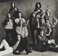 rock groups (san francisco). big brother and the holding company and the grateful dead by irving penn