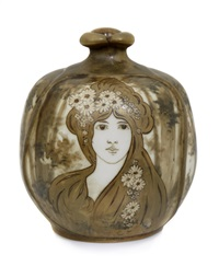 portrait vase by nikolaus kannhauser