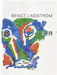 komposition mit blauem gesicht by bengt lindström