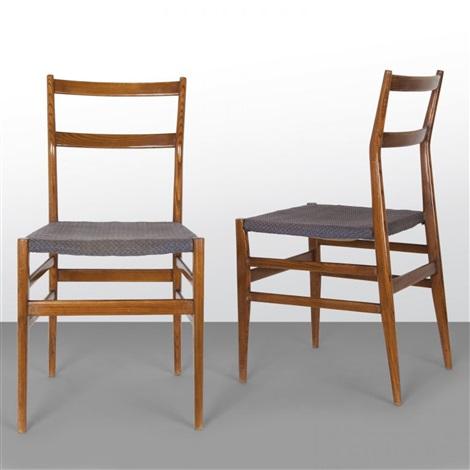 Due sedie leggera per cassina by gio ponti on artnet - Sedia leggera gio ponti ...
