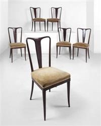 sei sedie by guglielmo ulrich
