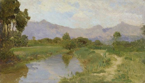 paesaggio by federico andreotti