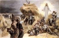 jesus erscheint den bauern auf dem felde by josé miralles darmanin