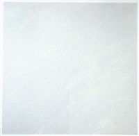 untitled (white on white) by mary corse