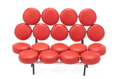 A George Nelson Herman Miller Marshmallow Sofa By Georg And Hermann