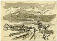 landschaften (3 works) by holmead (clifford holmead phillips)