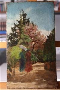 figure in giardino by vincenzo cabianca