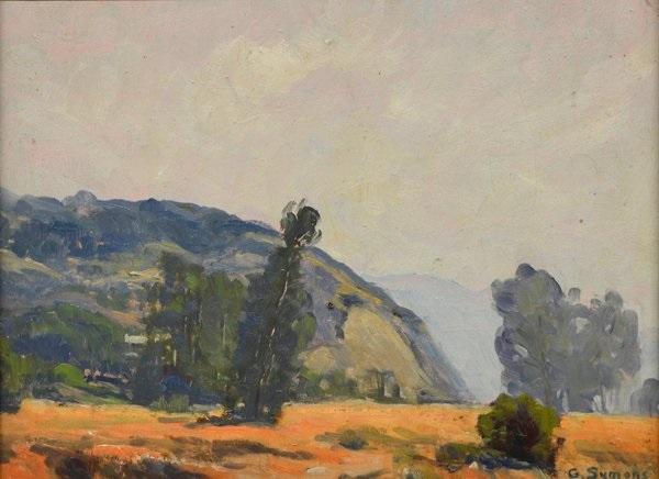 grass valley study by george gardner symons