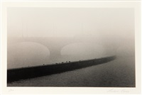 tram bridge, prague, czechoslovakia by michael kenna