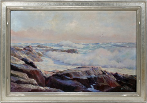 seascape by arthur e bracy