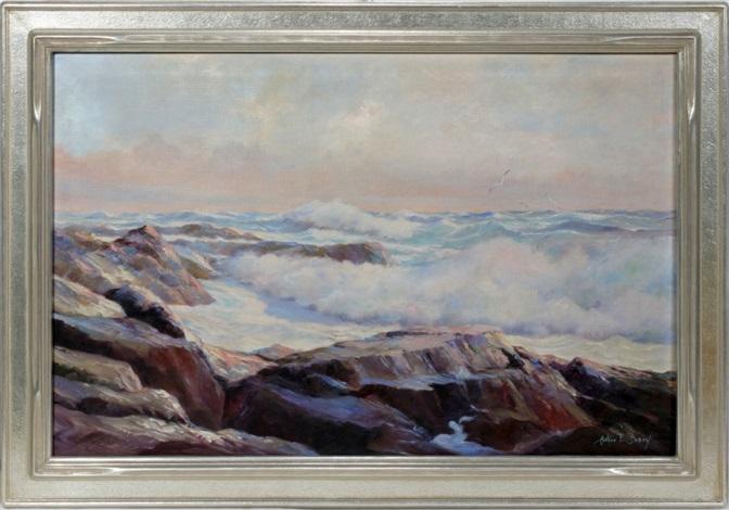 seascape by arthur e bracy