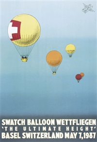 swatch balloon wettfliegen - the ultimate height by drew hodges