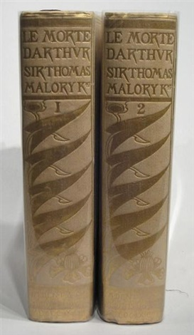 the birth life and acts of king arthur of his noble knights of the round table their marvellous enquests and adventures 2 vols by sir thomas malory w 22 works 4to by aubrey vincent beardsley