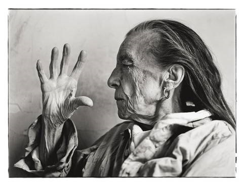 louise bourgeois, new york by annie leibovitz