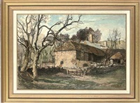 old barns, waddon manor, dorset by oliver hall