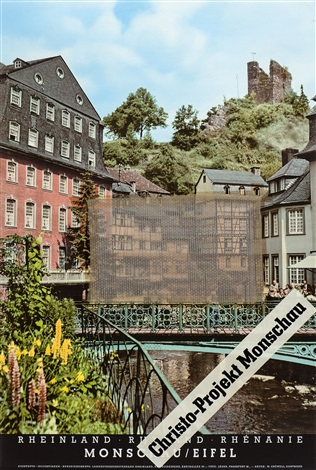 christo projekt monschau by christo and jeanne claude