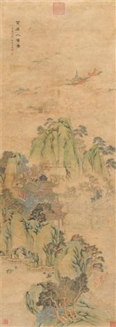 黄扉人赞图 by a buyi