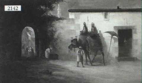 arabic scene by w eardman