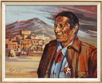 keeper of the pueblo, taos, new mexico by pat smoot