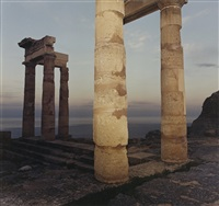 lindos with columns by richard misrach