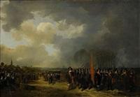 den engelska drottningen henrietta marias avresa från scheveningen år 1643 by paulus lesire