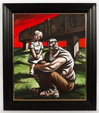 lost lucie by peter howson